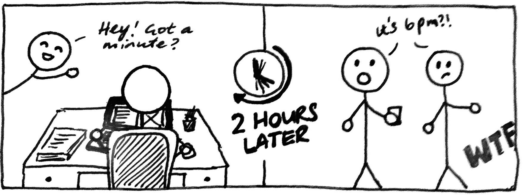 Minimize interruptions