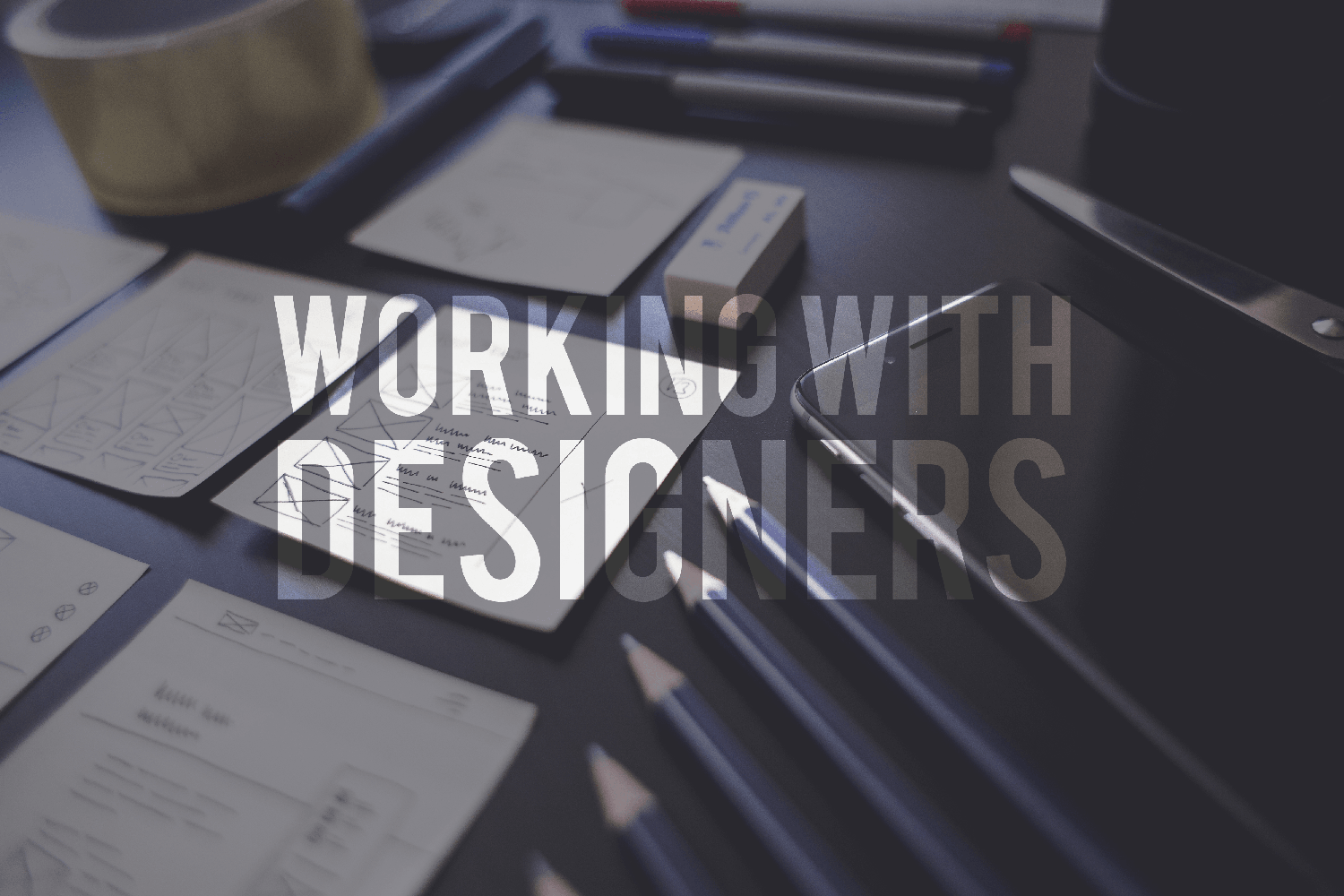 working with a design team