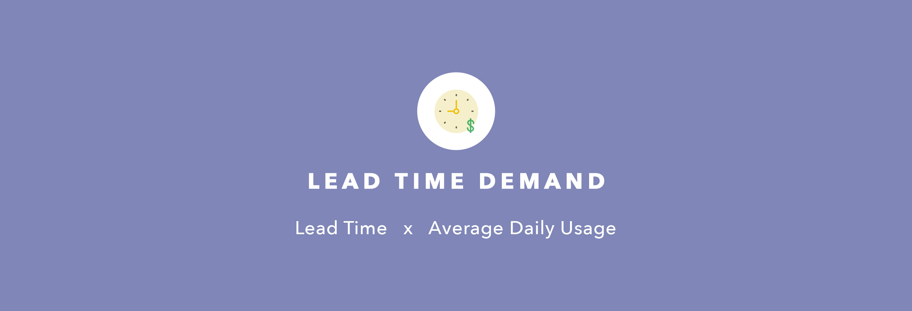 lead time demand